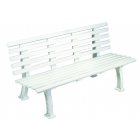 Tourna Deluxe 5-Foot Courtside Tennis Bench - Shop the Best Selection of Tennis Court & Cabana Benches