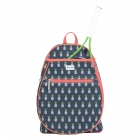 Ame & Lulu Pineapple Junior Tennis Camper Backpack - Kids Tennis Bags - Tennis Backpacks for Girls and Boys