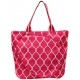 All For Color Pink Quatrefoil Tennis Tote - New Tennis Bags