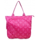All For Color Pink Geo Gem Tennis Tote - All For Color