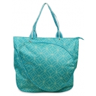 All For Color Turquoise Geo Gem Tennis Tote - Tennis Racquet Bags