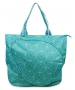 All For Color Turquoise Geo Gem Tennis Tote - Tennis Tote Bags