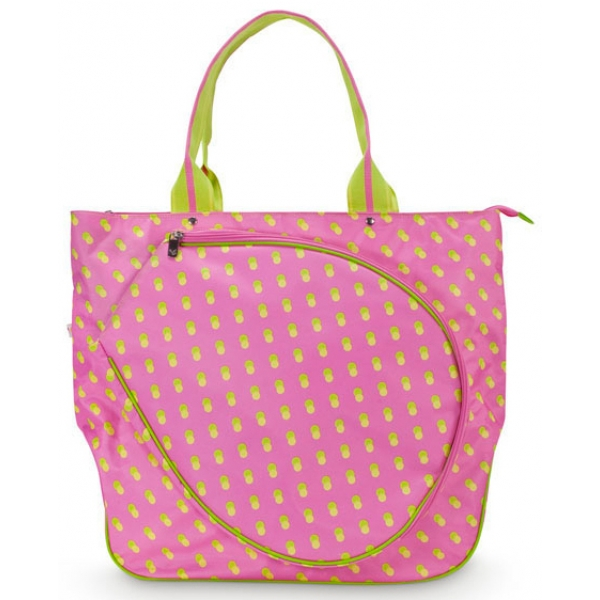 All For Color Citrus Dot Tennis Tote