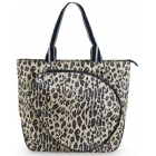 All For Color Classic Leopard Tennis Tote - Designer Tennis Bags