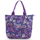 All For Color Vivid Paisley Tennis Tote - Designer Tennis Bags