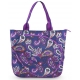 All For Color Vivid Paisley Tennis Tote - All For Color