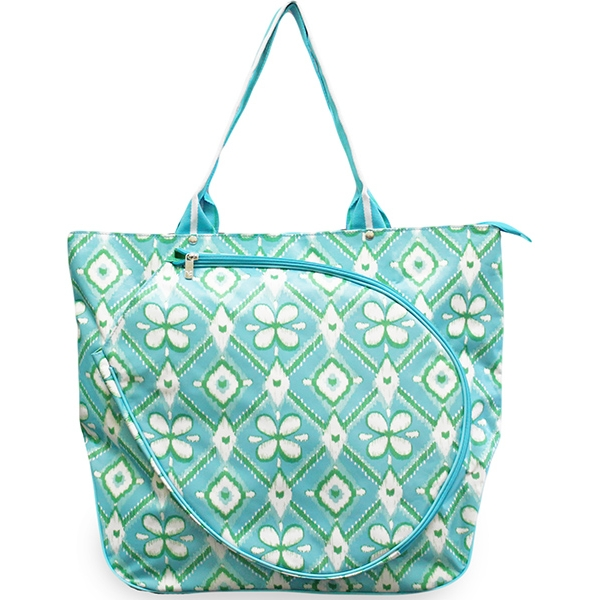 All For Color Ikat Bliss Tennis Tote