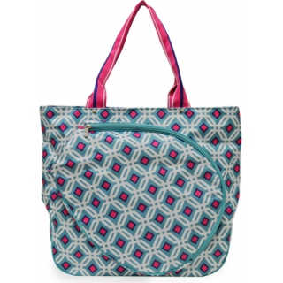 All For Color Ocean Graphic Tennis Tote