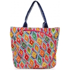 All For Color Multi Ikat Tennis Tote - All for Color Tennis Bags