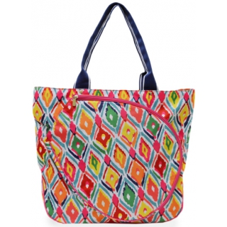 All For Color Multi Ikat Tennis Tote