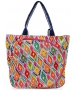 All For Color Multi Ikat Tennis Tote - Designer Tennis Bags