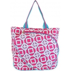 All For Color Pink Charmer Tennis Tote - Designer Tennis Bags