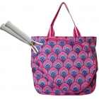 All For Color Bali Blooms Tennis Tote - All For Color Tennis Tote Bags