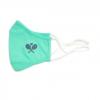 Ame & Lulu Tennis Cool Fit Face Mask (Aqua) - Sports Towels, Wraps & Face Masks