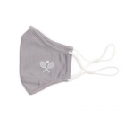 Ame & Lulu Tennis Cool Fit Face Mask (Grey) - Sports Towels, Wraps & Face Masks