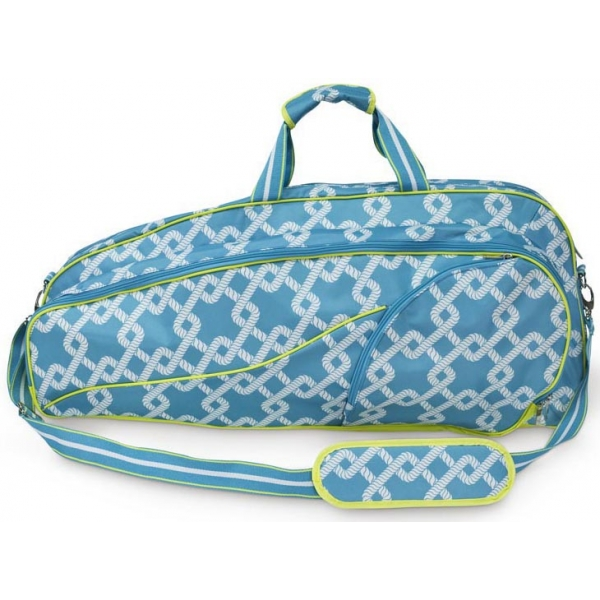 All For Color Coastal Link Tennis Bag