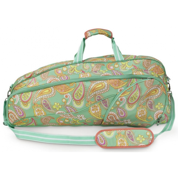 All For Color Paisley Breeze Tennis Bag