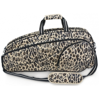 All For Color Classic Leopard Tennis Bag