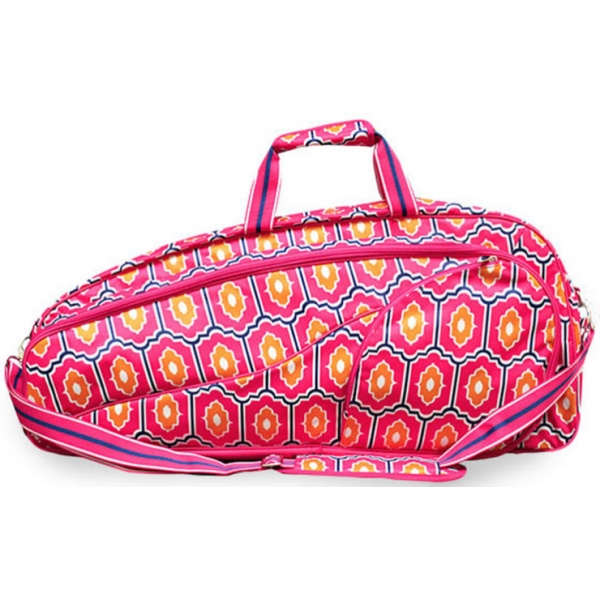All For Color Moroccan Tile Tennis Bag