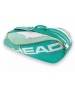 Head Tour Team 3 Pk Pro Tennis Bag (Teal/Orange) - Tour Team Series