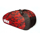 Prince Team 6 Pack Bag (Black/Red) - New Tennis Bags