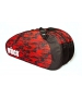 Prince Team 6 Pack Bag (Black/Red) - Prince Tour Team Tennis Bags and Backpacks