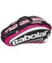 Babolat Team Racquet Holder x12 (Pink/ Black) - Babolat Team Tennis Bags