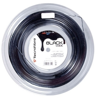 Tecnifibre Black Code 16g Tennis String (Reel)