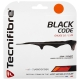 Tecnifibre Black Code 16g Tennis String Set (Fire) - Polyester Tennis String