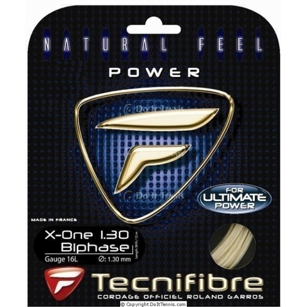 Tecnifibre X-One Biphase String 16g Tennis String (Set)