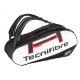 Tecnifibre Pro Endurance 10R Tennis Bag (Black/White/Red) - 9 and 12+ Racquet Tennis Bags
