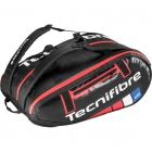 Tecnifibre Team Endurance 12R Tennis Bag (Black) - 9 and 12+ Racquet Tennis Bags