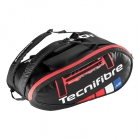 Tecnifibre Team Endurance 9R Tennis Bag (Black) - Tennis Bag Brands