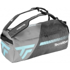 Tecnifibre Tempo Rackpack L Tennis Bag (Grey/Teal) - Tecnifibre Rackpack Tennis Bags