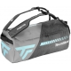 Tecnifibre Tempo Rackpack L Tennis Bag (Grey/Teal) - Tennis Travel Duffel Bags