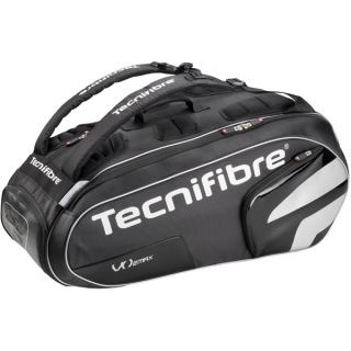 Tecnifibre VO2 Max 12 Pack Tennis Bag (Black)