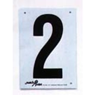 Tennis Court Number Signs
