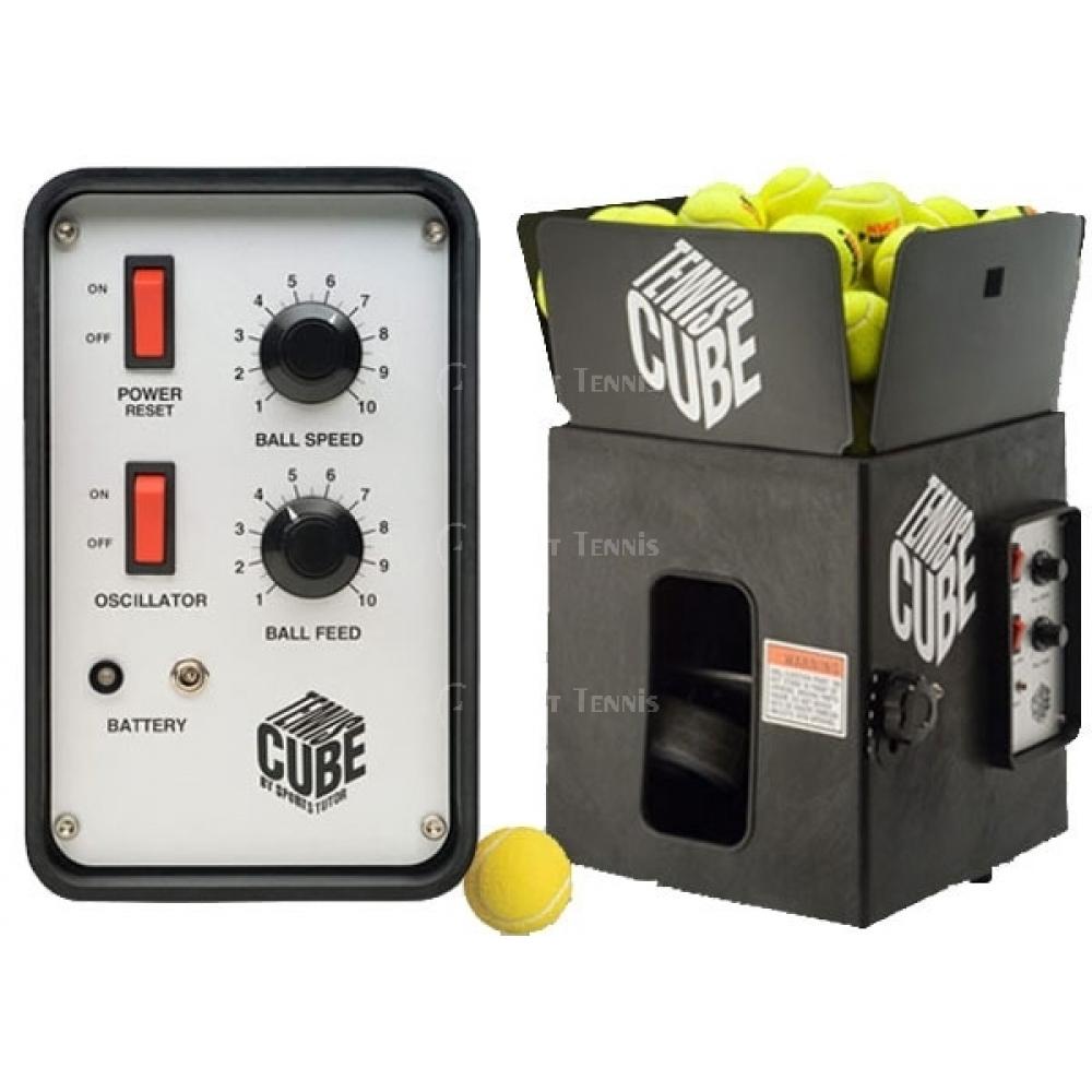 Tennis Tutor Cube Oscillating Ball Machine