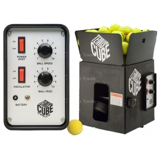 Tennis Tutor Cube Oscillating Ball Machine