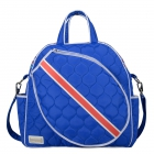 cinda b Royal Bonita Tennis Tote - Designer Tennis Bags - Luxury Fabrics and Ultimate Functionality