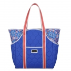 cinda b Royal Bonita Tennis Court Bag - Designer Tennis Bags - Luxury Fabrics and Ultimate Functionality