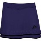 Adidas Women's Climachill Skort Tennis Apparel (Navy Blue / Black) - Women's Tennis Apparel
