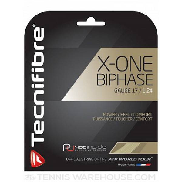 Tecnifibre X-One Biphase String 17g (Set)