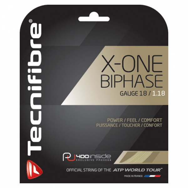 Tecnifibre X-One Biphase Tennis String 18g (Set)