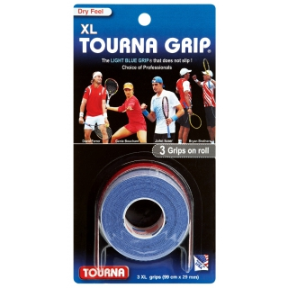 Tourna Grip XL Overgrip (3 Pack)