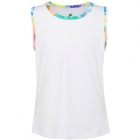 Fila Girl's Core Performance Full Back Tennis Tank (White/Tie Dye) - Girl's Tennis Apparel