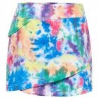 Fila Girl's Core Performance Tiered Tennis Skort (Tie Dye) - Girl's Tennis Apparel