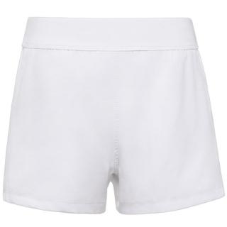 Fila Girl's Core Performance Double Layer Tennis Shorts (White)