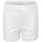 Fila Girl's Core Performance Tennis Ball Shorties (White) - Girl's Tennis Apparel