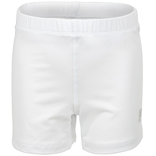 Fila Girl's Core Performance Tennis Ball Shorties (White)